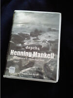 Henning Mankell 8 Cassette Audio Book DEPTHS Read By Sean Barrett 9hrs