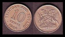 ★★ TRINITE ET TOBAGO ● 10 CENTS 1966 ● E14 ★★