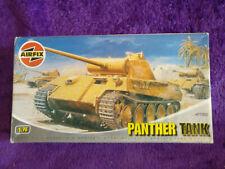 AIRFIX 1:76 PATHER Medium Tank Model Kit 01302 OO 72 *SEALED IN BAG*