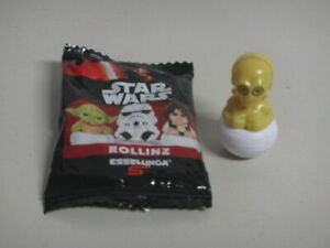 """C-3PO STAR WARS ROLLINZ 1 & 1/2"""" ACTION FIGURE Italy only New opened bag"""