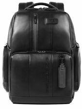 PIQUADRO Urban Computer Backpack Rucksack Laptoptasche Tasche Nero Schwarz