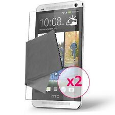Films de protection anti traces de doigts Clear HD pour HTC One (M7) ® x2