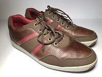 Footjoy Mens Contour Casual Spikeless Brown Leather 54371 Golf Shoes Size 9