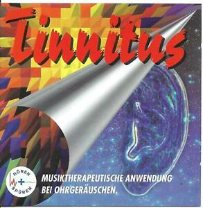 Tinnitus - Musiktherapeutische Anwendung bei Ohrgeräuschen (CD-Album) neu!
