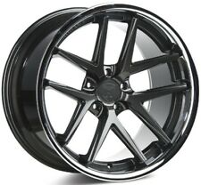 Rohana 19x11  RC9 5x114 +28 Gloss Graphite Rims (Set of 4)