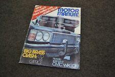 march 1975 motor manual ltd caprice escort tr7 civic 1200 magazine 67