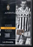 DVD=JUVENTUSIASMANTE=1985-1986=PRIMI IN ITALIA E NEL MONDO=SIGILLATO