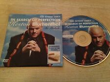 IN SEARCH OF PERFECTION HESTON BLUMENTHAL The Prelude Accompaniments Food DVD