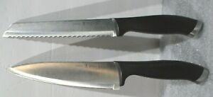 """J.A. HENCKELS SILVERCAP  - 13571-200 Chef's Knife 8"""" & 13576-200 Bread Knife 8"""""""