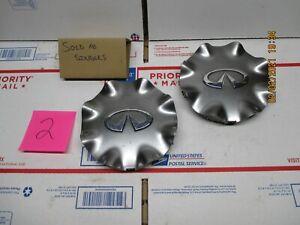 (1) Infiniti Center Cap Hubcap FX series Q45 hyper silver B1