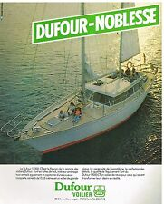 Publicité Advertising 1979 Le Voilier 12000 CT Dufour