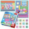 Trefl 2 In 1 30 + 48 & Memo Peppa Pig Daddy House Fun Play Shops Jigsaw Puzzle