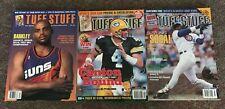 Tuff Stuff  Magazine Lot - Brett Favre, Charles Barkley, Sammy Sosa