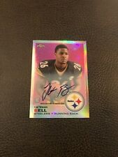 2013 Topps Chrome LE'VEON BELL RC 1969 Design Refractor OC Auto Steelers SSP