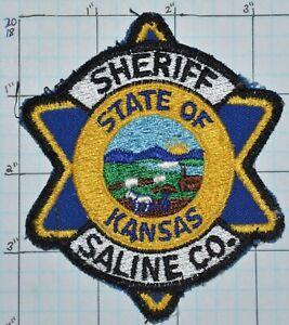 KANSAS, SALINE COUNTY SHERIFF DEPT VINTAGE PATCH