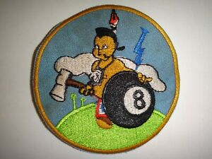 US Air Force Patch 8th FLYING TRAINING SQUADRON At Vance AFB, Oklahoma