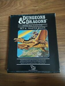 Set 4 - Master Rules Dungeons & Dragons D&D