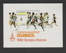 Dominica - 1980, Olympic Games, Moscow sheet - MNH - SG MS714