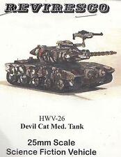 FABIAN Devil Cat Medium Tank Combat Tank-zinnbausatz-Starguard SciFi 1:72