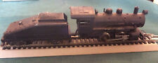 vintage HO all metal 0-4-0 steam locomotive mantua 3959 w/tender NEEDS REPAIR