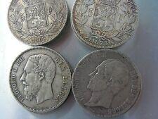 5 francs Leopold, lot de 12