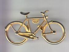 RARE PINS PIN'S .. VELO CYCLISME CYCLING CLUB TEAM BICYCLE OR GOLD 3D  ~DZ
