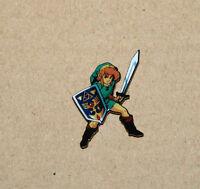 The Legend of Zelda Link very rare promo Pin  Nintendo