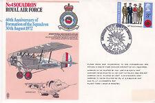 GB 1972 RAF 60th Anniv of 4 Squadron Formation Commemorative Cover