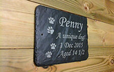 Commemorative Pet memorial Grave Marker - Made to Order Add Message 1st 4 Signs