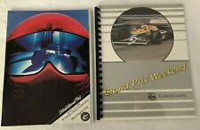 US Detroit Grand Prix Formula One F1 Program 1982 & 1987 ICI Race Packet