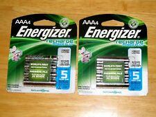 ENERGIZER AAA RECHARGEABLE BATTERIES ( 8 Pieces, 2 Pack *NEW*)