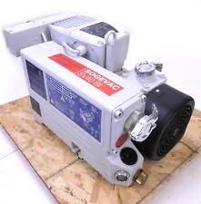 Leybold Sogevac Sv40bi Rotary Vane Vacuum Pump Oil Sealed Leroy Ls90l Motor