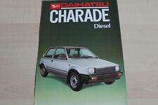 147375) Daihatsu Charade Diesel Prospekt 198?