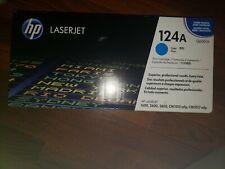 HP Print Cartridge Color LaserJet 124A Cyan Q6001A Genuine/OEM
