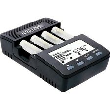 Powerex MH-C9000 WizardOne Charger-Analyzer for 4 AA / AAA NiMH / NiCD Batteries