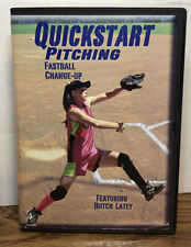 Quickstart Pitching Softball Fast Pitch Instruction DVD, 2007 Coach Butch Latey
