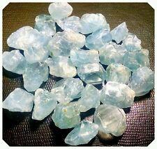 2lb CELESTITE Rough Mineral Pieces  Natural Sky Blue Crystal Healing Wholesale