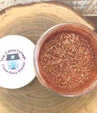Mica Powder 1/2 oz Jar Copper Penny Shimmer for Epoxy Resin, Cosmetics, Soap