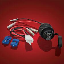 Honda Goldwing USB Socket 2-Port Show Chrome 52-820 USB Accessory Socket GL1800