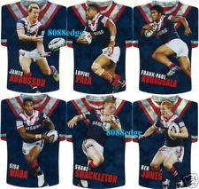 2009 SELECT NRL CLASSIC DIE-CUT FOIL JERSEY TEAM SET: SYDNEY ROOSTERS- PAEA/WAQA