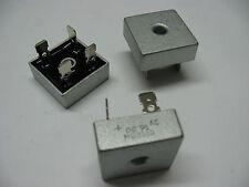 Lot x2: pont de diodes 35A 1000V MB3510 KBPC3510 sorties cosses fast on 6.35mm