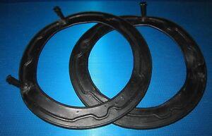 """7"""" Headlamp Headlight Rubber Seals Triumph Herald 1200 12/50 13/60 Convertible"""