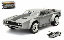 Dom's Ice Dodge Charger R/t Fast & Furious Grey 1:24 Model JADA TOYS