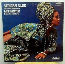 African Blue Les Baxter Exotica lp Gatefold GNP Crescendo Stereo VG++