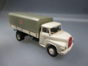 "Man round Bonnet Truck "" Bavarian Red cross, Gauge H0, Design Brekina (Schub34)"