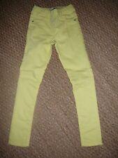 Pantalon jean slim jaune fille 8 ans Vertbaudet
