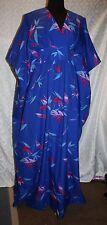 Royal Palm Hawaii Kimono Hostess Dress One Size Caftan Kaftan Hawaiian Patio