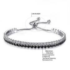 Luxury Bracelets For Women Double Layer Adjustable Tennis Bracelets