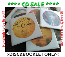 Huge Selection Of Cds! Pick 1 or 100+ and pay only $3 S&H. More added weekly!