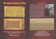 The paper currency of Tibet - Book - 2012 - Wolfgang Bertsch